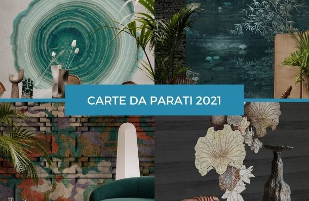 carta da parati wall&deco contemporary 2021